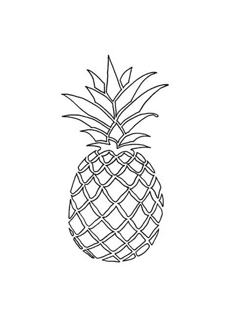 best 25 pineapple drawing ideas on pineapple