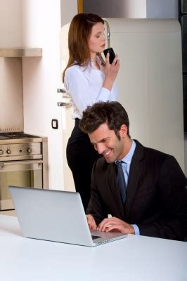 professional couple smart ideas for a home office for stay at home parents