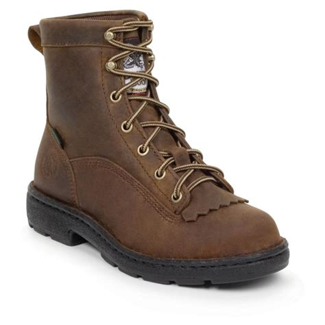 s 174 eagle light work boots brown 186351