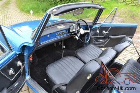 renault caravelle interior 1968 renault caravelle convertible