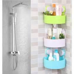 Plastic Bathroom Accessories Aliexpress Buy 1 Pcs Plastic Bathroom Accessories Kitchen Storage Rack Organizer