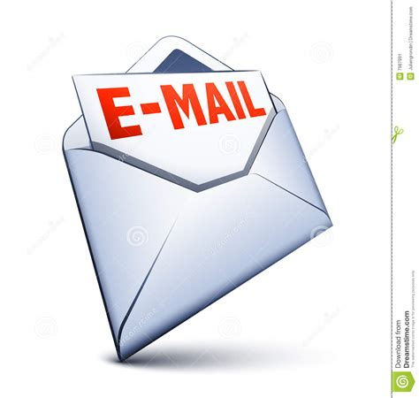 email or e mail email icon stock vector image of mail open paper
