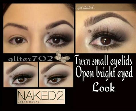 eyeshadow tutorial for small eyelids 60 best images about hooded eyes makeup on pinterest