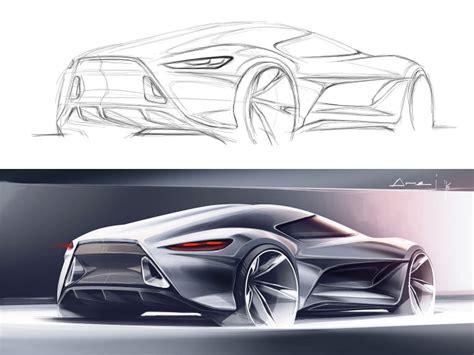 tutorial design car sketchover 7 car rendering in photoshop car body design