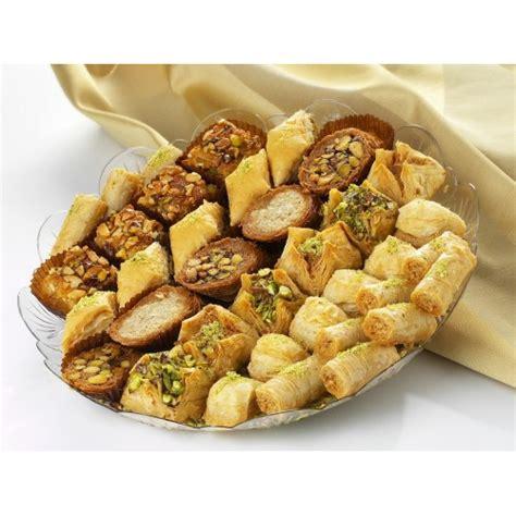 Arabic Sweet Baklava Roll Mixnut 1kg mix baklawa tray