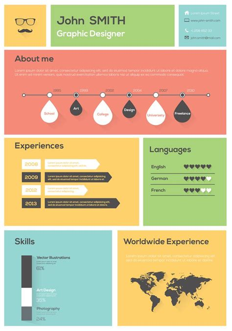 Graphic Design Resume Bullet Points Infographic Bullet Points Search Powerpoint Infographics More
