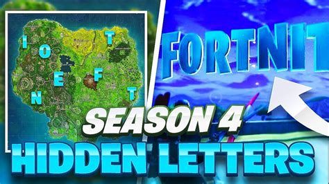 Where To Find Fortnite Letters