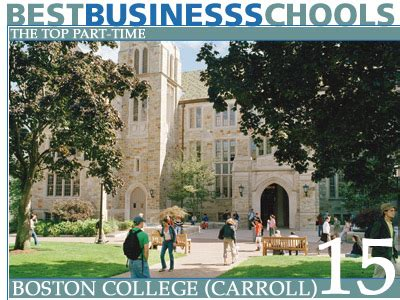 Boston Part Time Mba by The Top Part Time Business Schools