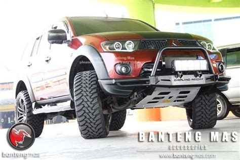 mitsubishi pajero sport modified 64 best images about montero sport on 4x4