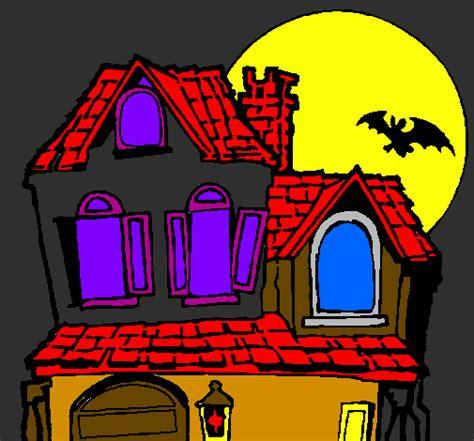 casa delle streghe disegno la casa mistero colorato da utente non
