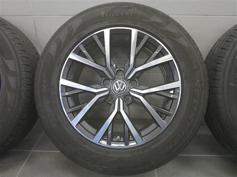 zoll sommerraeder original vw tiguan ad allspace tulsa naa  premium wheels