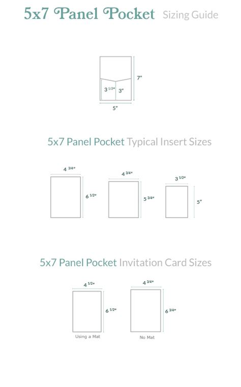 5x7 panel fold card template invitation size guide 5x7 panel pocket cards pockets