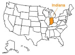 us map indiana the us50 a guide to the state of indiana geography