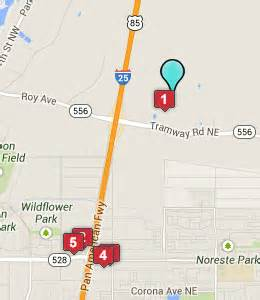 New Mexico Casinos Map by Casinos In New Mexico