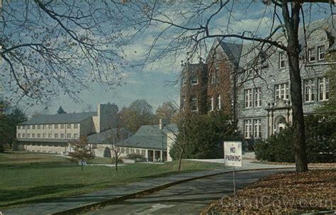Post Office Chambersburg Pa by Wilson College Chambersburg Pa