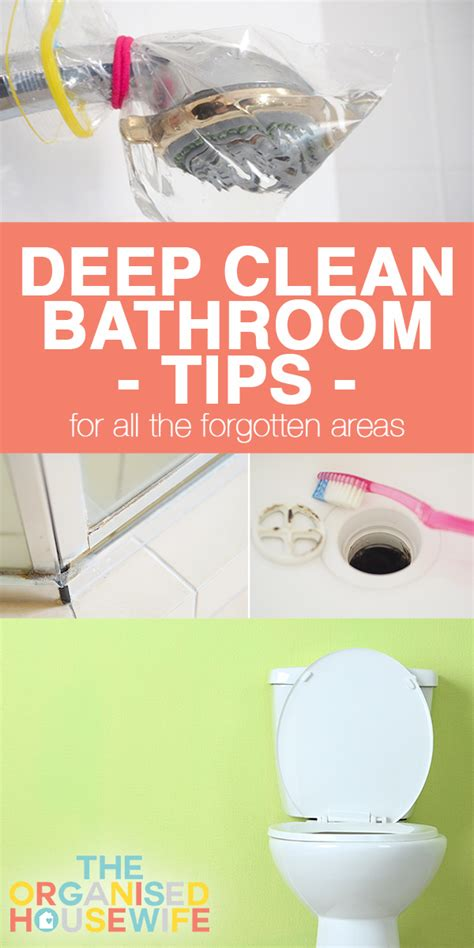 bathroom deep cleaning deep clean bathroom tips for all the forgotten areas the
