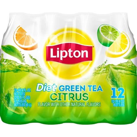 A Tastetea Reminder And Free Tea Offer by Lipton Diet Green Tea With Citrus 16 9 Fl Oz 12 Pk Target