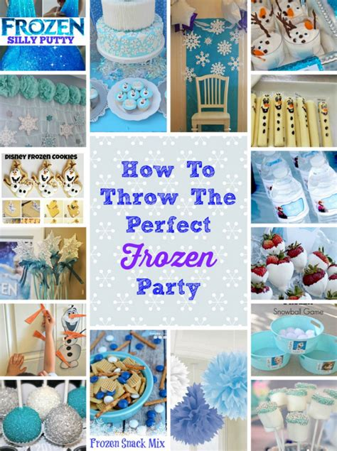 frozen themed party games how to throw the perfect frozen themed birthday party
