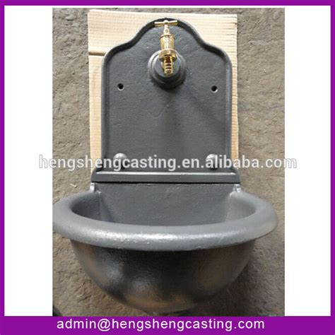 water fountain sink antique cast iron garden fountain sink water feature basin