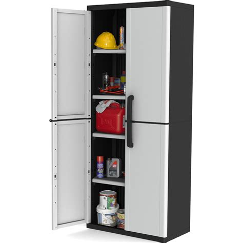 Keter Medium Storage Cabinet Keter 4 Shelf Winner Plastic Garage Storage Cabinet Buy Garage Cabinets