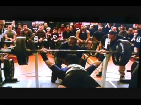 world record bench press by age world record bench press joe scalzo youtube