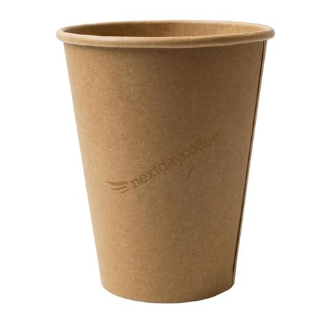 A Paper Cup - 12oz kraft single wall paper cups 1000