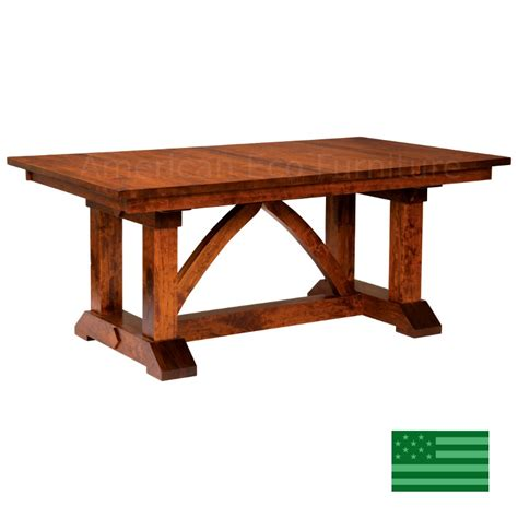 dining room tables made in usa amish solid wood heirloom furniture made in usa banff