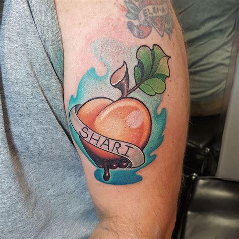 tattoo school new mexico jessiecolo new school peach tattoo newschooltattoo