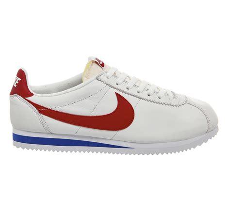 Nike Classic Cortez Forrest Gump nike classic cortez og forrest gump leather qs vc 2008912689 no sale tax usa newest usa
