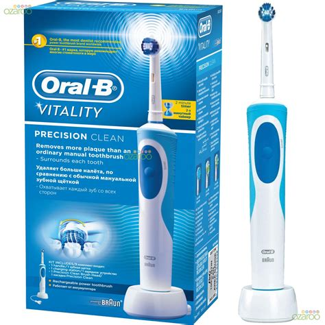 B Vitality Precission Clean Rechargeable Toothbrush b vitality precision clean cepillo de dientes
