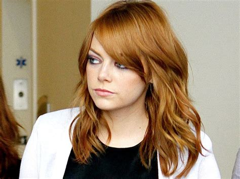 emma stone natural hair emma stone hair color idea good hair pinterest