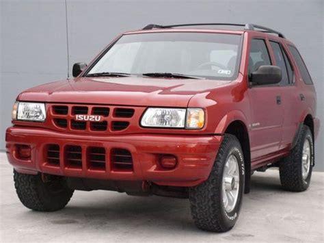best auto repair manual 2002 isuzu axiom engine 1999 2002 isuzu amigo axiom rodeo trooper vehicross front