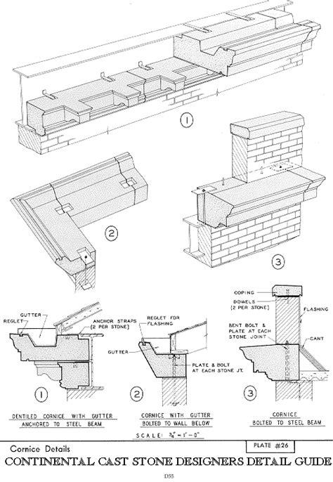 gesims detail precast cornice 19 images rwboucher home page