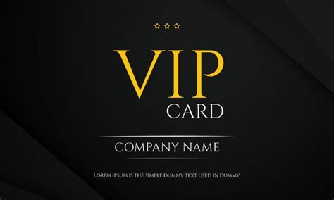 Vip Membership Card Template by 35 Membership Card Designs Templates Free Premium