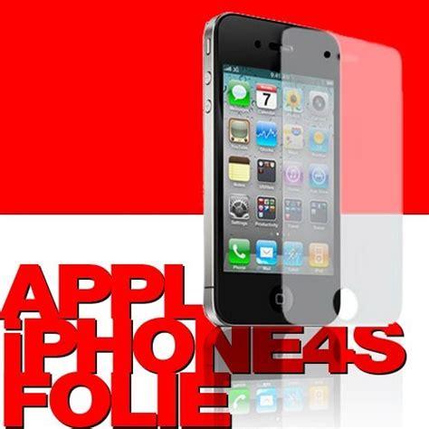 Folie Entfernen Iphone by Schutzfolie F 252 R Iphone 4 Und 4s Spiel Hobby Elektronik Apple