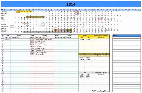schedule calendar template 2014 9 ms excel calendar template 2014 exceltemplates