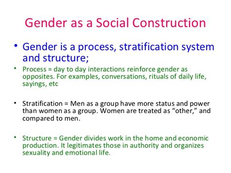 Race Socially Constructed Essay by Construction Of Gender Essay