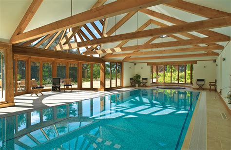 house indoor pool the green oak carpentry company pool barns barn house