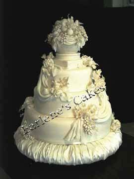wedding cake drapes wedding cakes with edible drapes pg 2