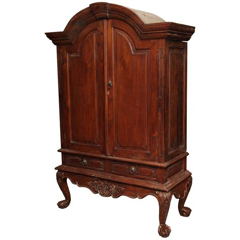 indonesian armoire large indonesian dutch colonial teak palatial armoire from