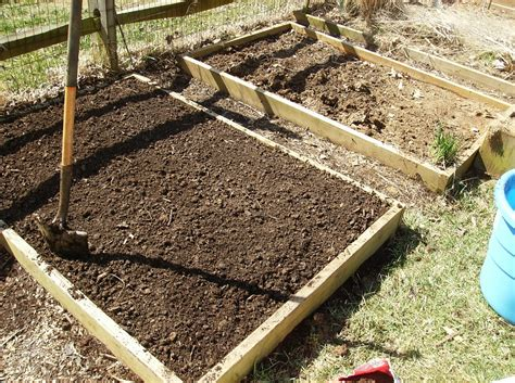 Raised Bed Vegetable Garden Soil The Rusted Vegetable Garden