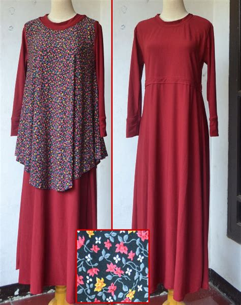 Gamis Jersey gamis jersey two pieces yenni hartati s shop