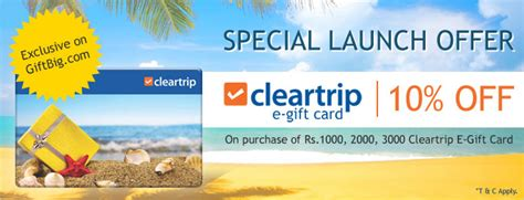 Life Experience Gift Cards - gift an awesome travel experience with cleartrip gift cards woohoo gifting blog