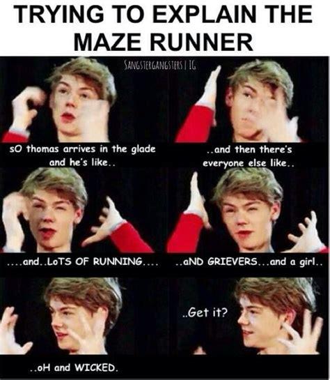 Maze Runner Memes - maze runner memes the glade amino