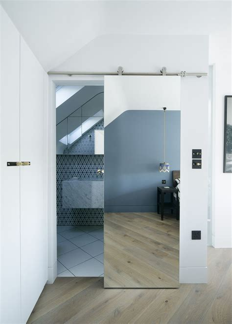 mirrored bathroom door 25 best ideas about mirror door on pinterest master
