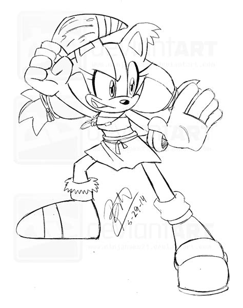 sonic boom free colouring pages