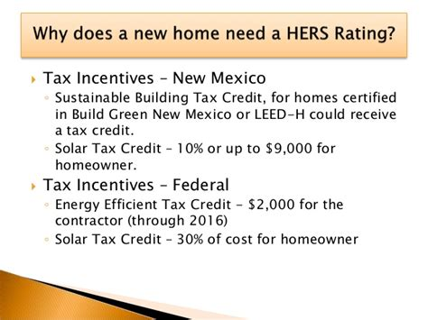 federal efficiency tax credits what is a hers rating home efficiency santa fe