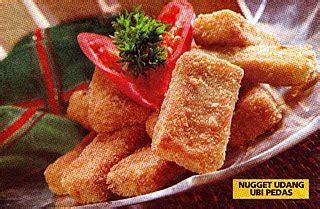 cara membuat nugget ayam pedas nugget udang ubi pedas