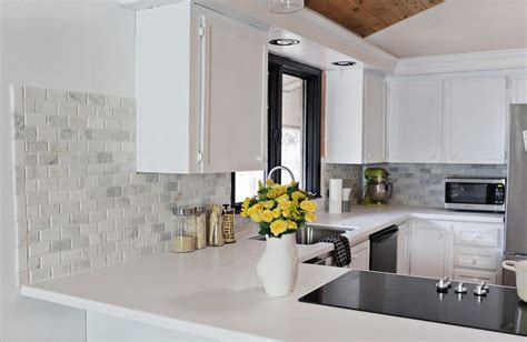 Inexpensive Backsplash For Kitchen Diy Kitchen Backsplash Ideas