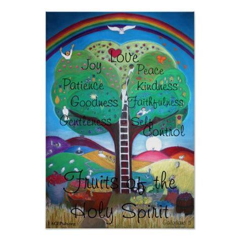 8 fruits of the holy spirit fruits of the holy spirit poster zazzle